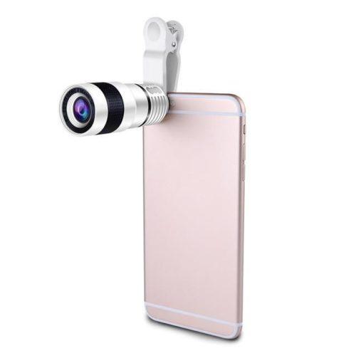 Smartphone zoom lens