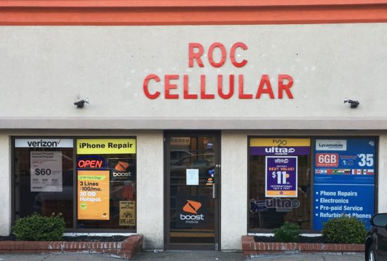 ROC Cellular store front pic summer